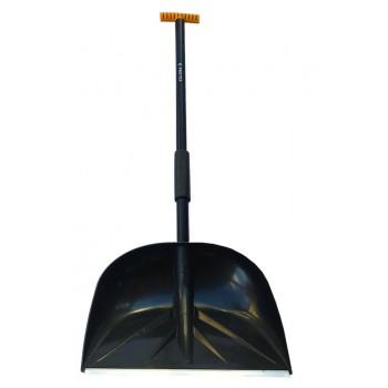 Лопата снегоуборочная 420ммх440мм 'САНТА' в сборе
