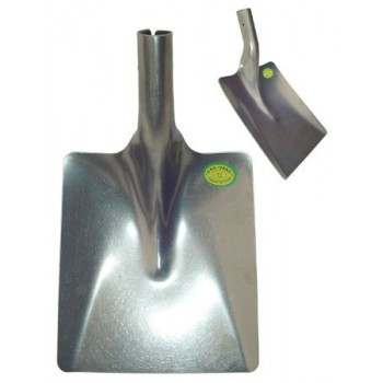 Лопата совковая титановая 240ммх260мм s:2мм (Салда)