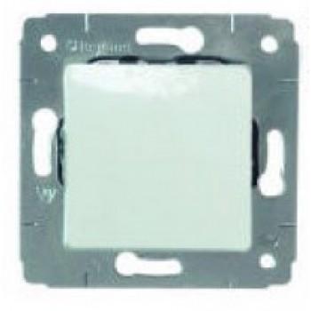 Механизм выключателя 1-кл. CARIVA белый Leg773656