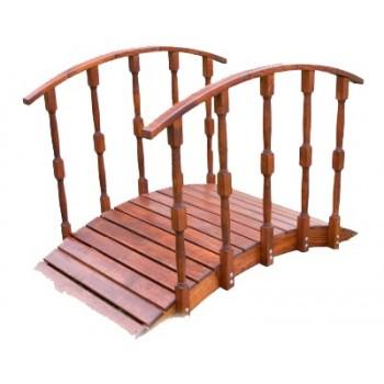 Мостик декоративный деревянный 202смх120смх90см