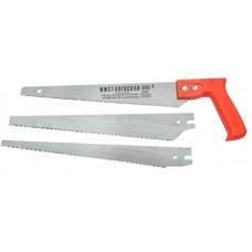 Ножовка 300мм по дереву универсальная с 3-мя полотнами (Ижевск)