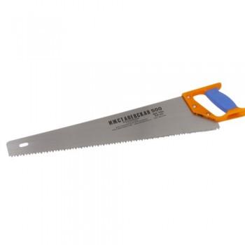 Ножовка 500мм по дереву (шаг 6,5мм) 'Премиум' двухкомпонентная рукоятка (Ижевск)