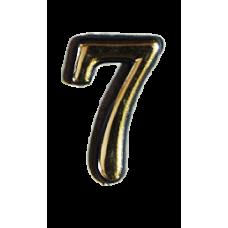 Номерок квартирный самоклеющийся №7 (Богд)