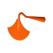Тяпка (Мотыжка) трапеция 'Улыбка' оранжевая радиусная самозаточная