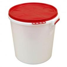 Бак 45л пищевой пластмассовый с герметичной крышкой