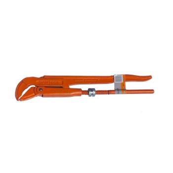Ключ трубный 1,5' изогнутные губки №2
