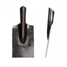 Ледоруб 'РЕЛЬСОВАЯ СТАЛЬ' с черенком деревянным (из лопаты-ледоруба)