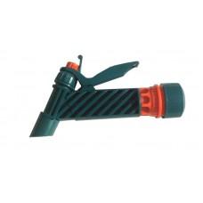 Пистолет поливочный 1/2' цанговое крепление с фиксатором