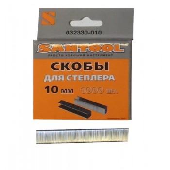 Скобы 10мм (толщина 1,2мм, тип 140) для мебельного степлера 1000 шт.