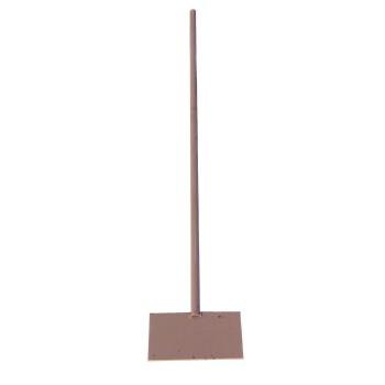 Скребок-ледоруб 200ммх100ммх4мм на металлической трубе