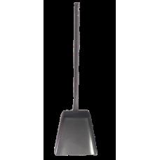 Совок для мусора (металл, порошковая окраска, длинная ручка 470 мм)