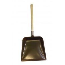 Совок металлический большой с деревянной ручкой