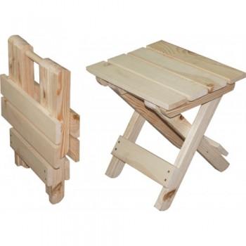 Табурет деревянный складной 34смх45смх44см