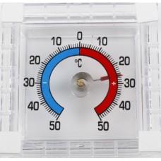 Термометр оконный ТББ 'Биметаллический' квадратный в блистере п/п