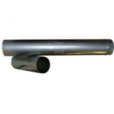 Труба L:1м d:100мм оцинкованная