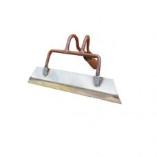 Тяпка клепанная 250*50мм (нержавеюшая сталь) 'Г'
