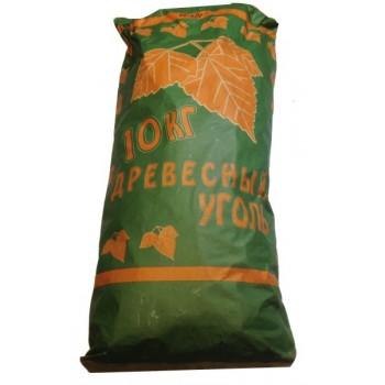 Уголь древесный (мешок 10кг)