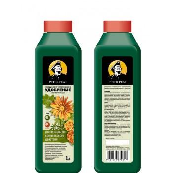 Удобрение 1л для защиты растений 'Питер Пит универсальное' жидкое гуминовое