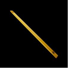 Уровень алюминиевый желтый 3 глазка 1200мм с линейкой