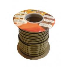 Утеплитель профиль P 9ммх5,5мм, 100м коричневый (щель 3мм-5мм)
