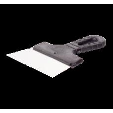Шпатель 150мм нержавеющая сталь с пластмассовой ручкой