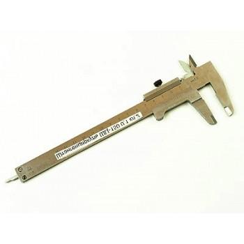 Штангенциркуль ШЦ - 150мм×0,02мм хромированный с глубинометром (МЛ)