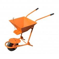 Тележка-дозатор для противогололедных материалов 1-колёсная 'Вихрь'