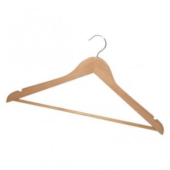 Вешалка для одежды размером 48-54 деревянная (YORK 6750)