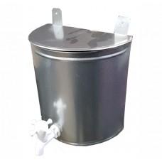 Рукомойник 10л оцинкованный (белый пластиковый краник)
