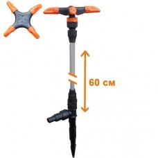 Распылитель удлиненный 'ЖУК' 4-х лепестковый для шланга 1/2'-3/4' (60 см)
