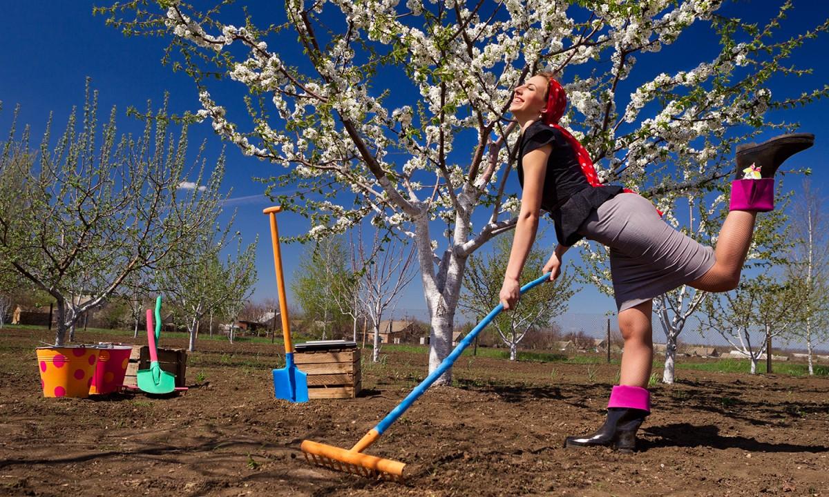 Работы в саду в апреле лунный календарь