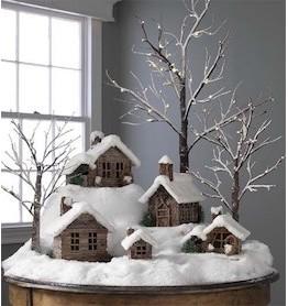 Зимние поделки для дома