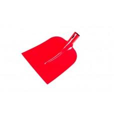 Лопата строительная 'Немецкая' Б2 совковая (порошковое покрытие (красная)/ без черенка/мех)