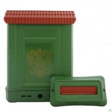 Ящик почтовый пластмассовый ПРЕМИУМ с замком и накладкой