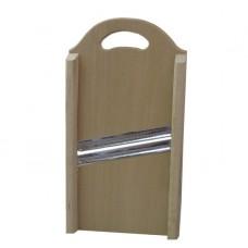 Шинковка для капусты деревянная 2 ножа (38см×17,5см)
