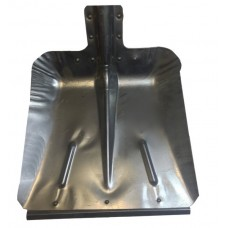 Лопата снегоуборочная 380ммх475мм ЛС9 (алюминиевая с планкой)