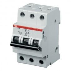 Автоматический выключатель модель 3п С 10А SH203L 4,5 кА АВВ 2CDS241001R0104 84602