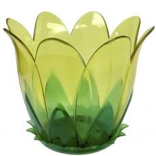 Горшок цветной 2л 'Орхидея' с поддоном /12/ (07080)