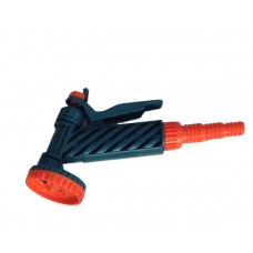 Пистолет-душ 1/2'-5/8'-3/4' с фиксатором 5-ти функциональный