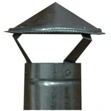 Зонт на трубу d:100мм оцинкованный