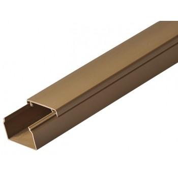 Кабель-канал 40ммх25мм коричневый Рувинил (2 м) 1шт=2 м 59524