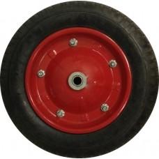 Колесо для тачки литое 13'х3,0 - 8 (ось 16мм*91мм)