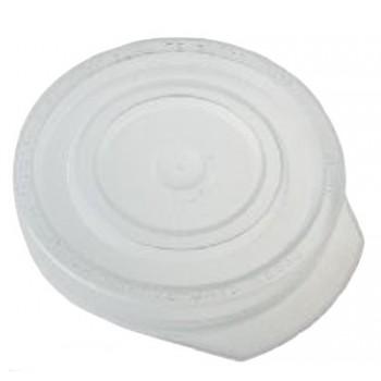 Крышка полиэтиленовая для закрывания банки прозрачная d-82 горячая (цена поштучно)