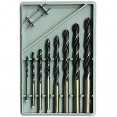 Набор сверл по металлу НС9 1мм-10мм (10 шт)
