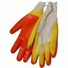 Перчатки трикотажные с 2-м латексным обливом 13 кл. Китай /100/