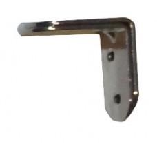 Уголок мебельный 40ммх40ммх20мм (2 шт) хром