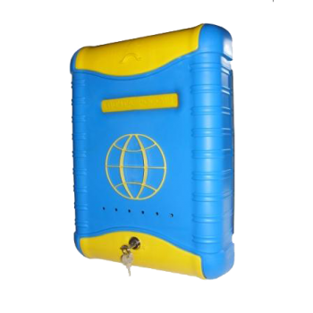Ящик почтовый пластмассовый с замком