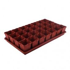 Ящик для рассады 28 горшков по 250мл